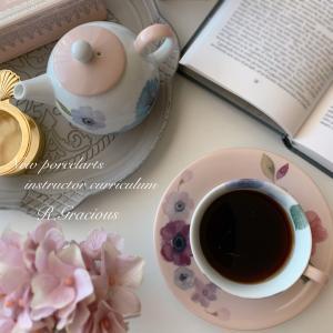 Tea for One ~ポーセラーツ新インストラクターカリキュラム課題~
