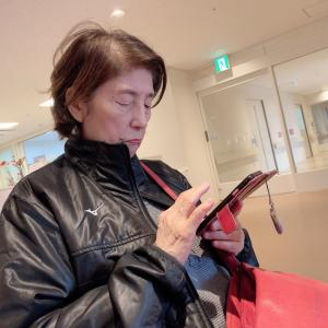 母に連絡をしました。