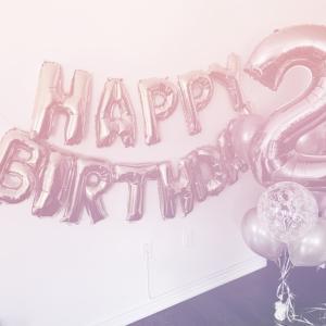 次女 2歳誕生日
