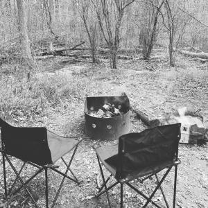 初キャンプ