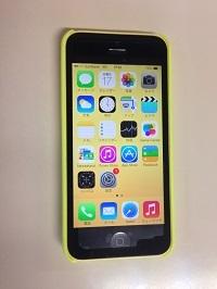 iPhone5C 買取 通信 仙台より