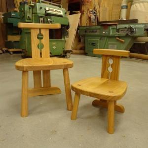 子供椅子1.5倍で製作