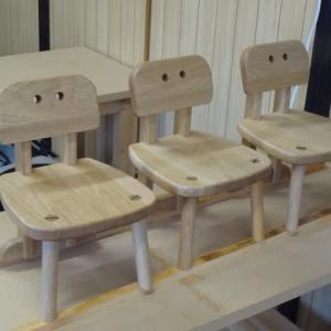 子供椅子Eタイプ 完成しました