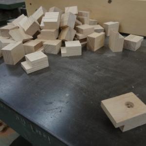 木駒たくさん作りました