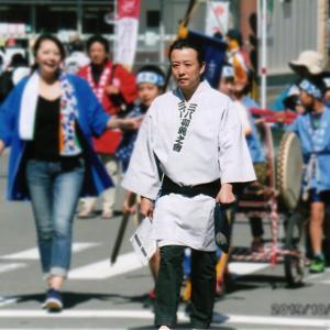 小笠原社長がおくんち祭りに参加しました!