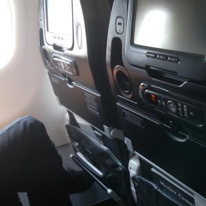久々に、飛行機に乗りました。