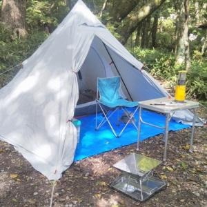 赤城山公園キャンプ場は、そろそろ秋です