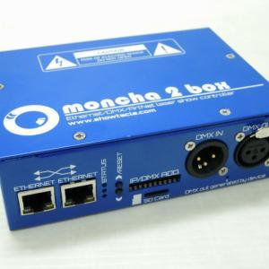 Moncha BOX 2 レーザーILDAコントローラー