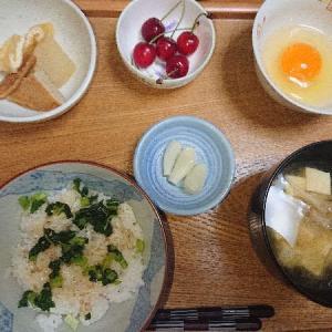 (R3)水無月7日 かつおのたたきに【日本酒】沢の鶴 純米酒にて