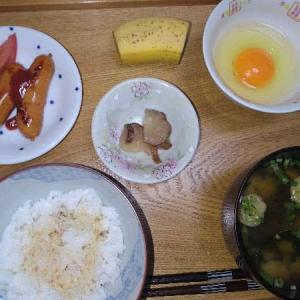 (R3)長月14日 イカの塩辛に【芋】母智丘 千本桜 柳田酒造 にて