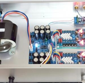 HPA-1000のシャシー設計 デモ機完成