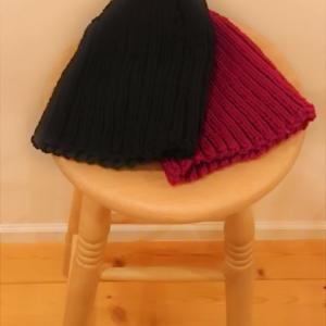 いくつ編んでも初めての手編み感。。。