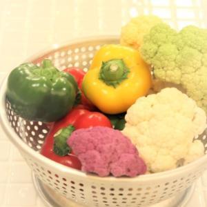 色に惹かれて買った野菜。。。