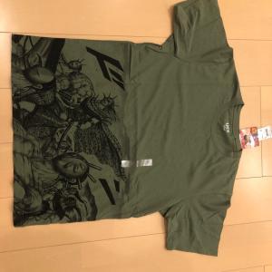 ユニクロのキングダムTシャツがカッコ良すぎる。