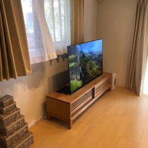 フナイの有機ELテレビを買いました。55インチでデカい