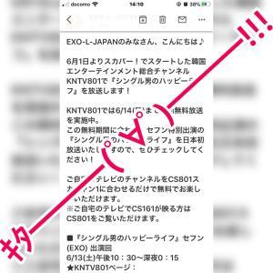 EXO-L JAPANからのメール