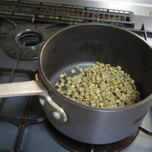 コーヒー豆を自力焙煎してみました。実際に飲むまで3日もかかりました