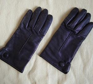 クタクタの革手袋がピカピカに変身!
