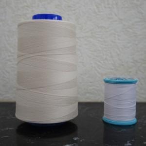 超デカサイズの「工業用ミシン糸」を家庭用ミシンで使う方法