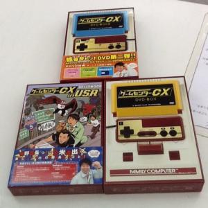 ゲームセンターCX DVD-BOX 買取しました。