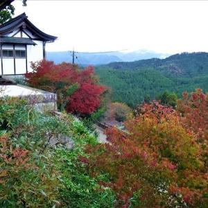 吉野に紅葉を見に行くー奈良