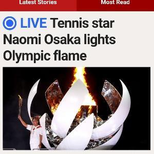 Tokyoオリンピック開幕のお話。