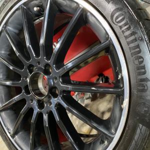★メルセデスベンツ CLA250  AMGホイール 塗装修理★