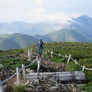 白山 花模様ハイキング 展望歩道・トンビ岩コース     Mount Haku in Hakusan National Park