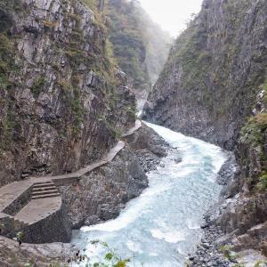 上信越 雨上がりの清津峡と星峠の棚田    Kiyotsu Valley in Jōshin'etsu-kōgen National Park