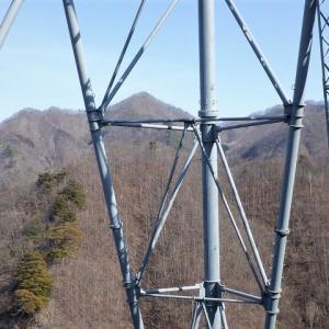 西上州(下仁田町) 今春はじめての藪山は荒船湖から東電巡視路を歩く     Mount Toya in Shimonita, Gunma