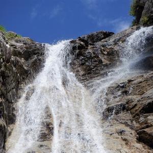宮田村 初めての中央アルプスで沢登り 中御所谷西横川     Stream Climbing in Miyada, Nagano