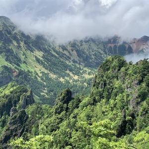 上信越 迷路のような天狗の露地から浅間山群の秘峰 剣ヶ峰へ     Mount Kengamine in Jōshin'etsu-kōgen National Park