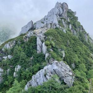 中部山岳 餓鬼岳見参 高山植物を愛でながらケンズリを越えて東沢岳へ     Mount Gaki in Chūbu-Sangaku National Park