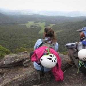 Rock Climbing at Medlow Bath in Blue Mountains National Park
