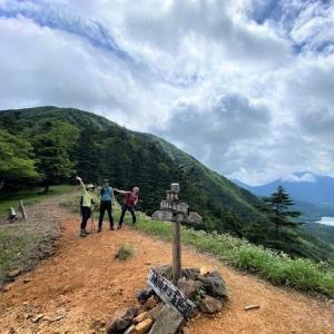 日光 レイニーシーズンに登った温泉ヶ岳     Mount Yusengatake in Nikkō National Park