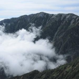 中部山岳 針ノ木岳を越えて Day1 針ノ木峠から蓮華岳ピストン     Mount Renge in Chūbu-Sangaku National Park