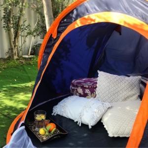 お庭キャンプ