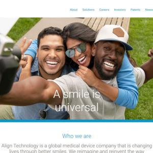 銘柄解説 ALGN:Align Technology, Inc.(アライン・テクノロジー)