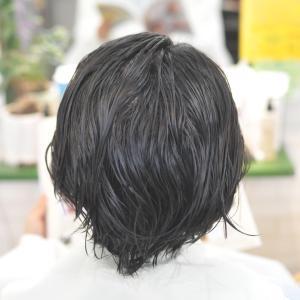 ショートヘアの縮毛矯正常連奥様〜〜