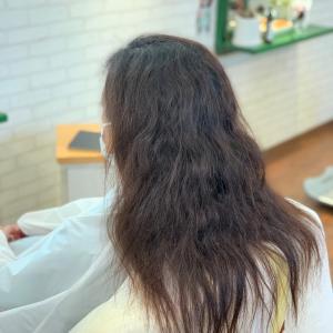 細毛軟毛ダメージあり癖強めの縮毛矯正