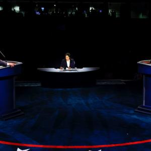 トランプ氏とバイデン氏のDebate(TV討論会)