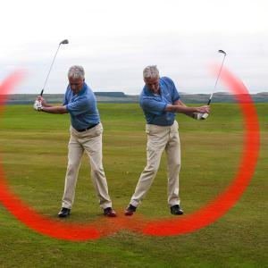 ゴルフ上達に必須なハーフスイングドリル