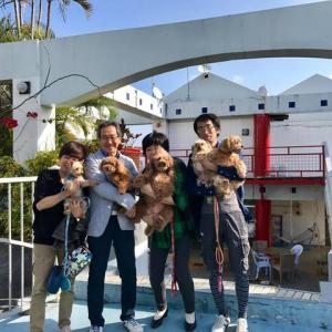 沖縄県内から遊びにきてくれたAさんご一行&さくらちゃん、やまとくん、むさしくん、こじろうくん、コナくん