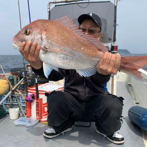 今年、初の鯛釣りに!