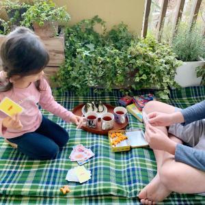 *【家ごもりのアイデア④】家の中でお花見・ベランダでピクニック