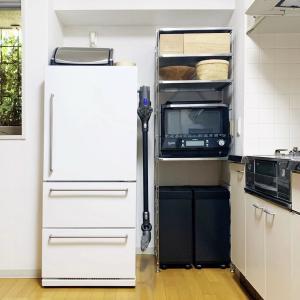 *【キッチン収納を大改造】無印のユニットシェルフ&おしゃれで使いやすいゴミ箱