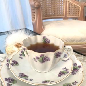 今朝のひとり紅茶時間❤️ いい一日にするためにする事