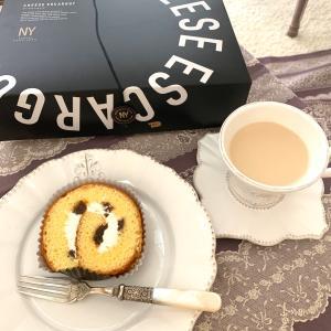 今朝のひとり紅茶時間❤️読書タイム