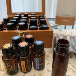 アロマの香りに癒されて❤️マスクスプレー作り