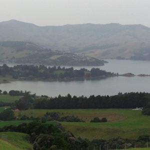 ニュージーランド家族旅行記2019-20(8 アカロア観光編)